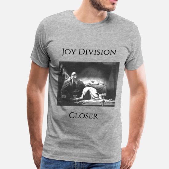 f05e5ea3 Joy T-Shirts - Joy DIvision Closer - Men's Premium T-Shirt heather gray