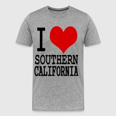 I HEART SOUTHERN CALIFORNIA - Men's Premium T-Shirt