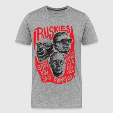 Ruskies-Russian composers - Men's Premium T-Shirt
