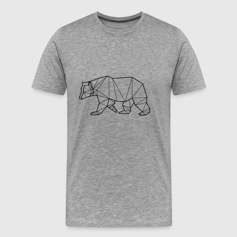 Bear Animal Prism - Men's Premium T-Shirt