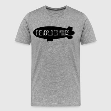 The World Is Yours - Scarface - Men's Premium T-Shirt