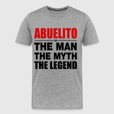 Abuelito Abuelito The Legend - Men's Premium T-Shirt