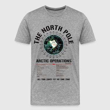 The North Pole - Arctic Operations Tee (dk) - Men's Premium T-Shirt