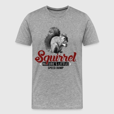 Speed Bump Squirrel Speed Bump - Men's Premium T-Shirt