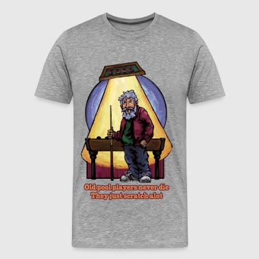 Old Pool Players - Men's Premium T-Shirt