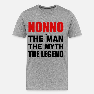 Nonno Nonno The Legend - Men's Premium T-Shirt