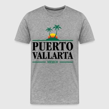 Puerto Vallarta Mexico - Men's Premium T-Shirt