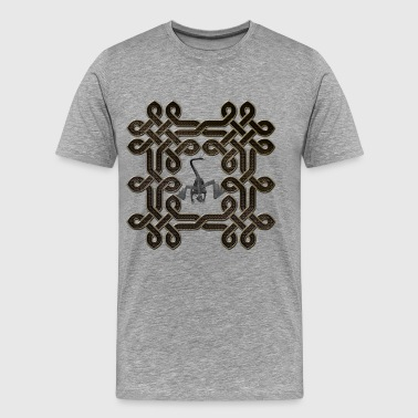 Wonderful celtic knot - Men's Premium T-Shirt