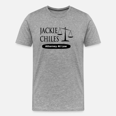Jackie Chiles Seinfeld - Jackie Chiles Attorney At Law - Men's Premium T-Shirt