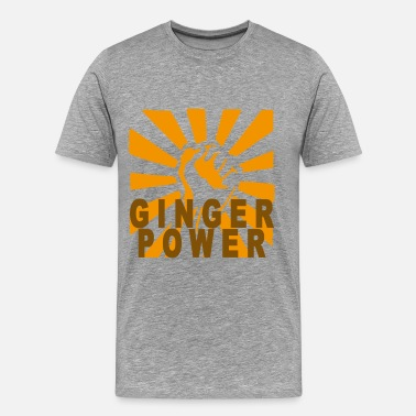 Ginger Power ginger_power_m - Men's Premium T-Shirt