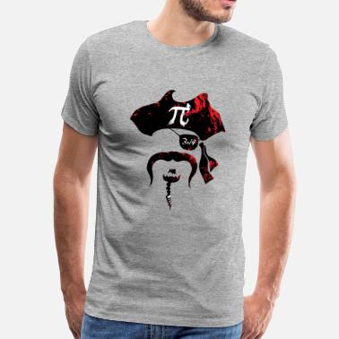 Pi Day Irrational Pi Day Pirate - Men's Premium T-Shirt