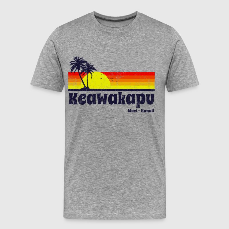 Keawakapu Maui Hawaii - Men's Premium T-Shirt