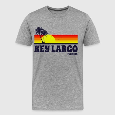 Key Largo Florida - Men's Premium T-Shirt