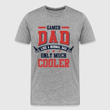 Gamer Dad - Men's Premium T-Shirt