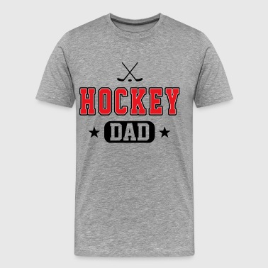 Hockey Dad - Men's Premium T-Shirt