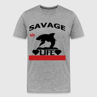 Savage Life Savage Life - Men's Premium T-Shirt