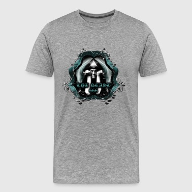 Aleister Crowley CROWLEY the Beast 666 - Men's Premium T-Shirt