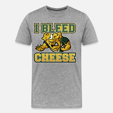 Aaron Rodgers I Bleed Cheese - Men's Premium T-Shirt