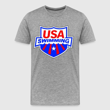 Usa Swimming Team USA Swimming - Men's Premium T-Shirt