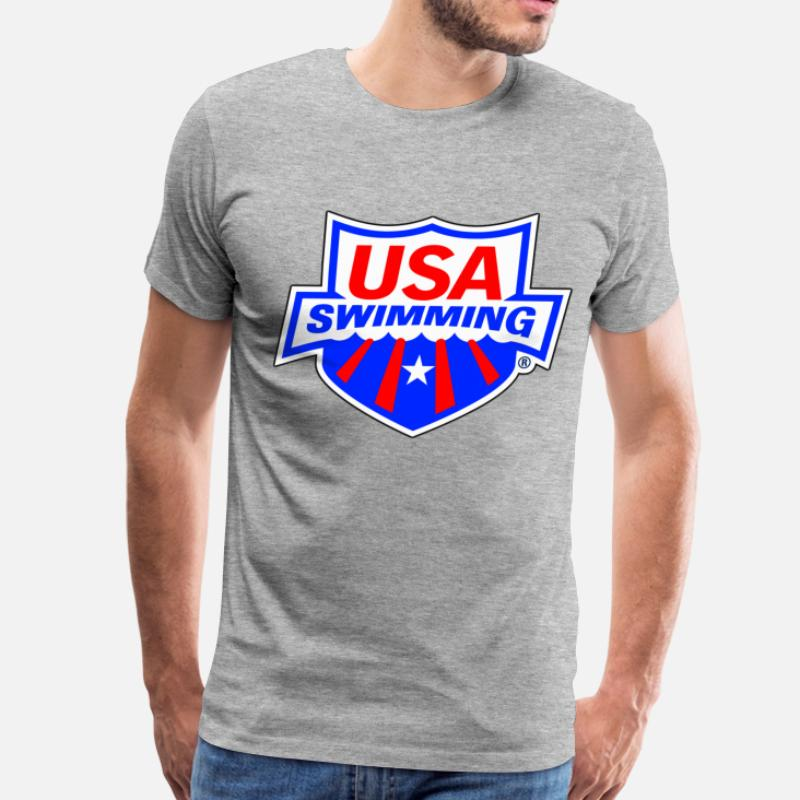 1b477ed8 Shop Usa Swimming T-Shirts online | Spreadshirt