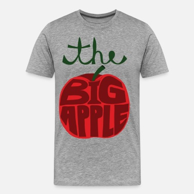 Big Apple  the big apple - Men's Premium T-Shirt