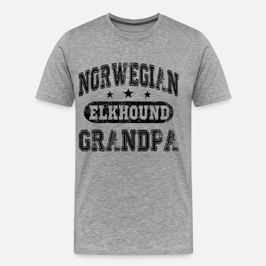 Norwegian Elkhound Owner Norwegian Elkhound - Men's Premium T-Shirt