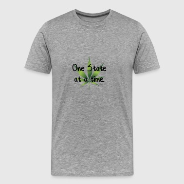 one state at a time - Men's Premium T-Shirt