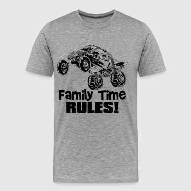 Family Time Dune Buggy - Men's Premium T-Shirt