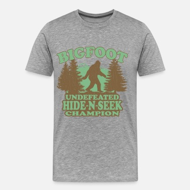 Funny Bigfoot BIGFOOT Funny Vintage - Men's Premium T-Shirt