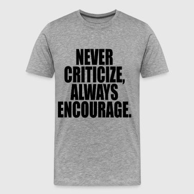 ALWAYS-ENCOURAGE - Men's Premium T-Shirt
