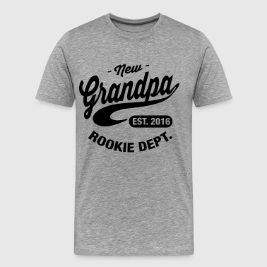 New Grandpa 2016 - Men's Premium T-Shirt