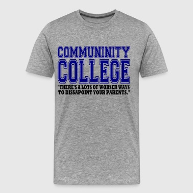 Community College - Men's Premium T-Shirt