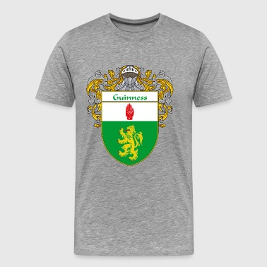 guinness_coat_of_arms_mantled - Men's Premium T-Shirt