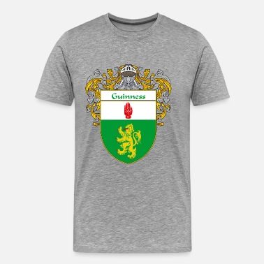 Family Crest guinness_coat_of_arms_mantled - Men's Premium T-Shirt