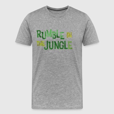 rumble in the jungle - Men's Premium T-Shirt