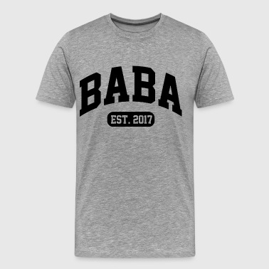 Baba Est. 2017 - Men's Premium T-Shirt