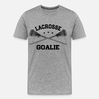 Goalie Lacrosse Goalie - Men's Premium T-Shirt