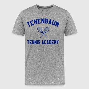 The Royal Tenenbaums Tenenbaum Tennis Academy - Men's Premium T-Shirt