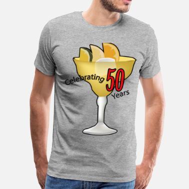 755cd34b60bcb3 50th Celebrating,Anniversary,Birthday T-shirt - Men's Premium T-Shirt