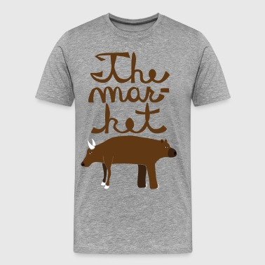 the market - Men's Premium T-Shirt