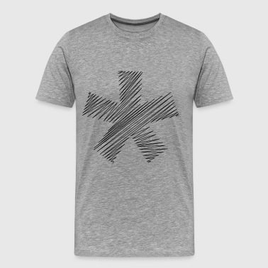 asterisk - Men's Premium T-Shirt