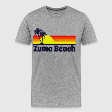 Zuma Beach Zuma Beach California - Men's Premium T-Shirt