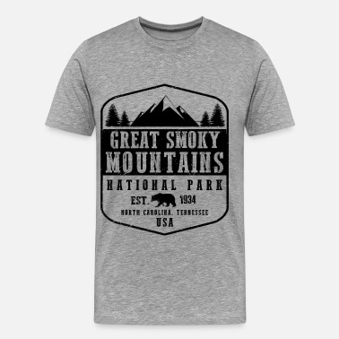 Great Smoky Mountains Great Smoky Mountains - Men's Premium T-Shirt