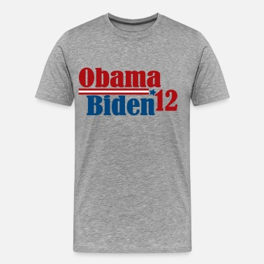 Obama Election Re-Elect Obama Biden 2012 - Men's Premium T-Shirt