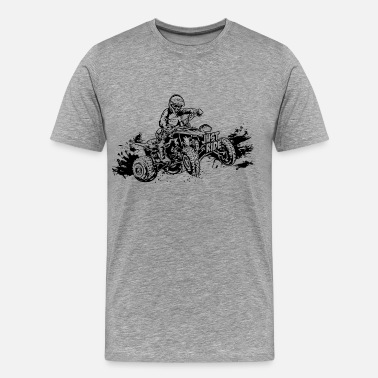 Atv Racing Just Ride Off-Road ATV - Men's Premium T-Shirt
