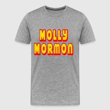 Molly Mormon - Men's Premium T-Shirt