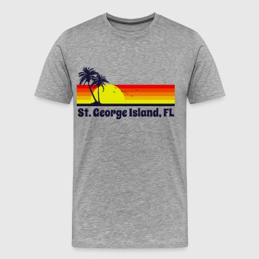 St George Island Florida - Men's Premium T-Shirt