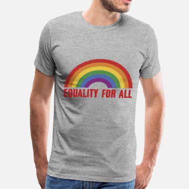 Gay Pride Equality For All - Men's Premium T-Shirt