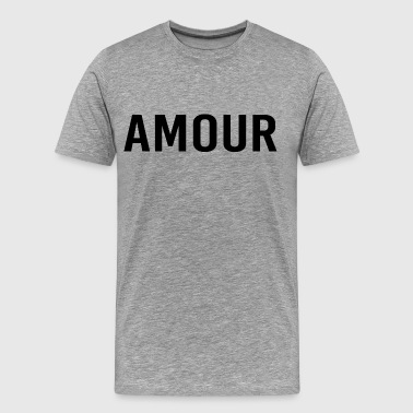 (amour) - Men's Premium T-Shirt