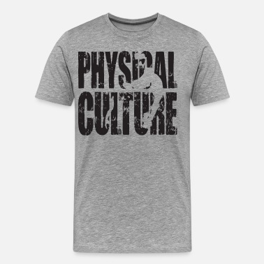 Physical-culture Physical Culture - Strong Man Iconic - Men's Premium T-Shirt